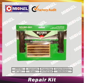 Tyre Repair Kit with Seal String Mc-501