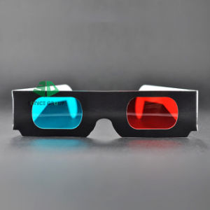Paper Cyan Red 3D Glasses (SN3D 049)