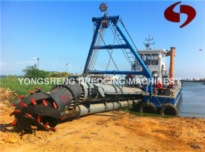14 Inch Cutter Suction Dredger in River