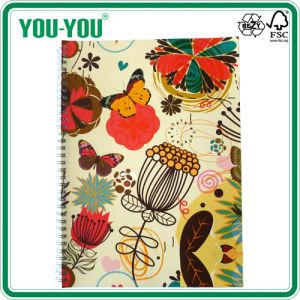Double Spiral Notebook of A4-A7 Art Paper