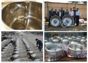 Industrial Heavy Stainless Steel Flour Dough Mixer with Removable Bowl pictures & photos