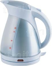 Plastic Cordless Electric Kettle (W-K17061)