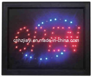 Red Open Classic LED Business Neon Light Sign (JYD-214)