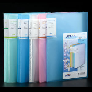 A4 Plastic Holder with Transparent Cover in 10 Pages (X10A)