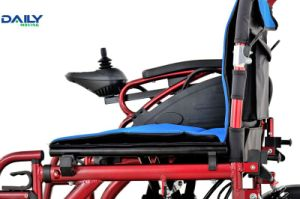 Easy Folding Economic Electric Power Wheelchair with Suspension Dp602 pictures & photos