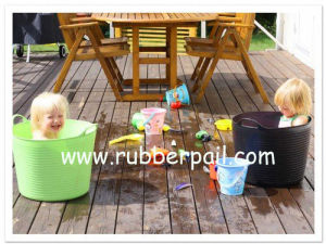 Garden Bucket, Flexible Bucket, Tubtrug Pail (9001-9004)