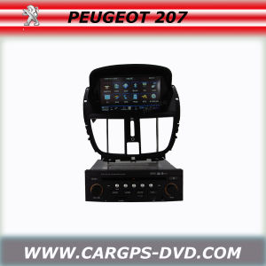 Integrative Car DVD Player for Peugeot 207 (HT-Q804)