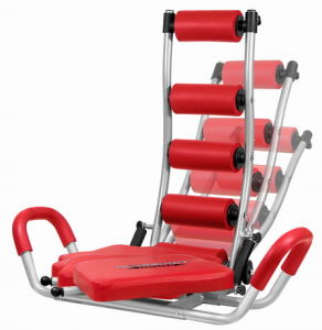 Red Abdominal Trainer Twister (JY-8002B)