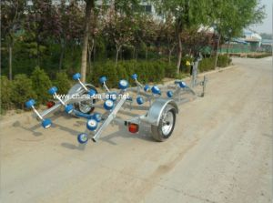 Boat Trailer (TR0201, European style, blue roller) pictures & photos
