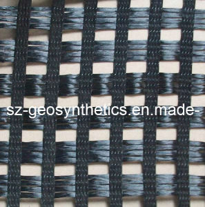 Warp Knitted Polyester Geogrid 100/100 Kn/M