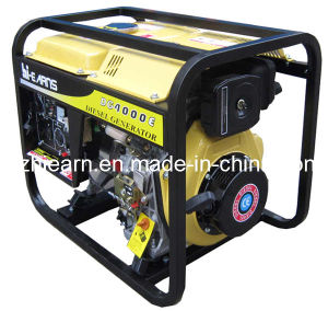 Open Frame Air Cooled Diesel Generator Set (DG4000E) pictures & photos