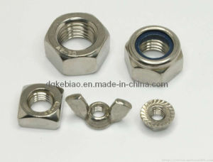 Stainless Steel Butterfly Nut with High Precision (KB-069)