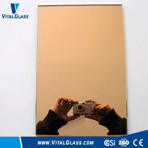 Tinted Reflective Mirror for Decorative Bathroom Mirror pictures & photos