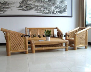 Living Room Bamboo Sofa