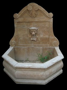 Antique Finish Marble Wall Fountain (FG-003) pictures & photos