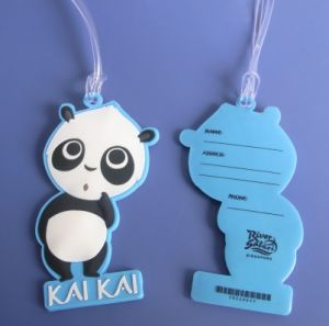 Soft PVC Luggage Tag (AS-LS-0315003) pictures & photos