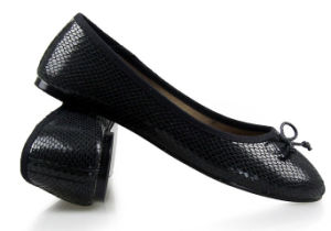 Generous Black Women Shoes Without Heels