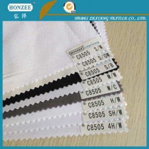 Woven Fusible Shirt Collar Interlining pictures & photos