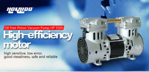 High Efficiency Performed Oiless Piston Portable Vacuum Pump (HP-550V) pictures & photos
