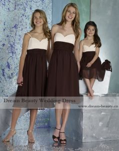 Bridesmaids Dress, Cocktail Dress with Swarovsky Crystal (Lf05-Mic)