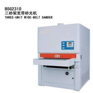 Woodworking Sanding Machine, Wide Belt, 3 Heads (BSG2310)