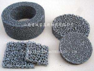 Silicon Carbide Ceramic Foam Filter (Grey)