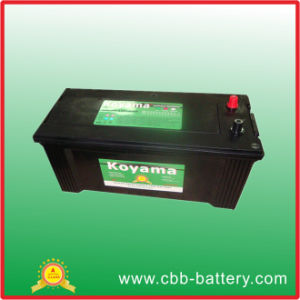 Hot Sale Maintenance Free Automotive Heavy Duty Vehicle Battery 140ah 12V pictures & photos