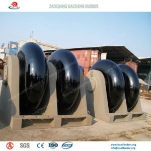 Easy Installed Cone Fenders on Sea Port pictures & photos