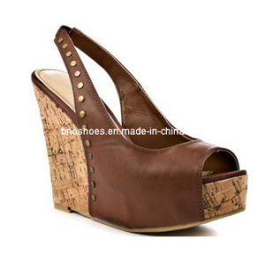 New Style Best-Seller Women High Heel Wedges