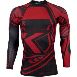 Professional Custom MMA Rash Guard Compression Shirt pictures & photos
