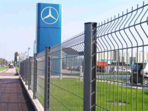 Excellent PVC Coated Welded Railway Fence (10 years factory)