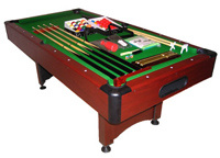 Slate Pool Table (HA-7045) pictures & photos