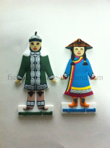 High Quality and Economic PVC Badge pictures & photos
