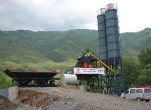 Hzs30 Concrete Batching Plant pictures & photos