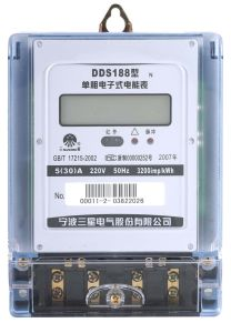 Single-Phase Static Meter (DDS188 N)