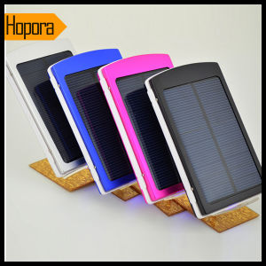 10000mAh Solar Mobile Phone Battery Power Bank Charger pictures & photos