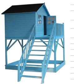 Wooden Playhouse (ST-WH9912)