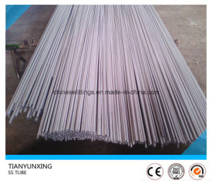 SS304 SS316 Seamless Stainless Steel Unpolished Capillary Tube pictures & photos