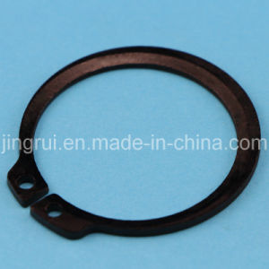 Chamfer for Insider of Retaining Rings for Shaft (DIN471)