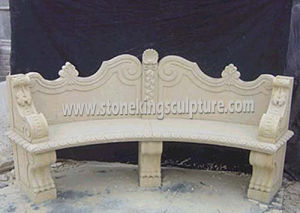 Hand Carved Marble Bench for Garden and Outdoor (SK-1963) pictures & photos