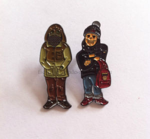 Soft Enmael Black Nickel Plated Pin Badges & Lapel Pins pictures & photos