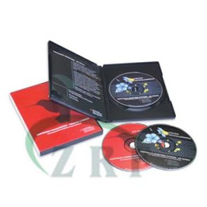 DVD Replication with Amaray DVD Case pictures & photos