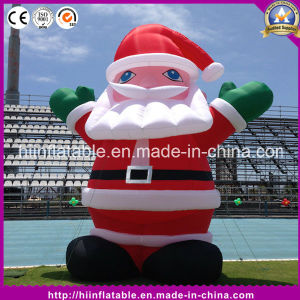 Hot Inflatable Santa for Christmas Decoration
