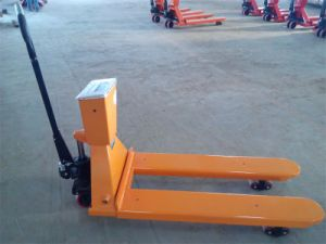 Lifting Jack and Hand Pallet Truck with Scale pictures & photos
