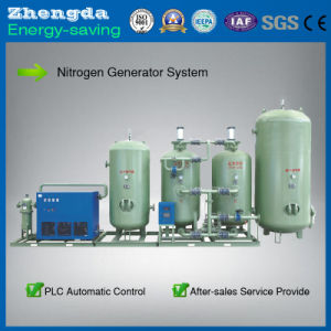 a System of Small Portable Liquid Nitrogen Production Plant for Goods Storage