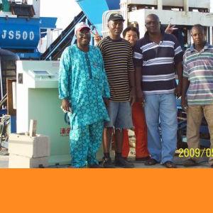 Full Automatic Concrete Block Making Machine, Brick Production Line (PJ4-16)