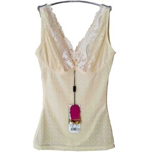 Body Beautiful Women′s V-Neck Shaping Camisole with Lace (TSM011UN)
