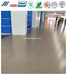 Anti-Slip Cheap Industrial Parquet Polyurea Rubber Flooring pictures & photos