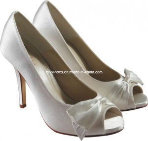 High-Shine Bridal Wedding High Heel