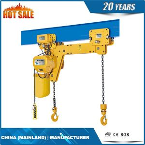 Double Hook Hoist with Electric Trolley pictures & photos